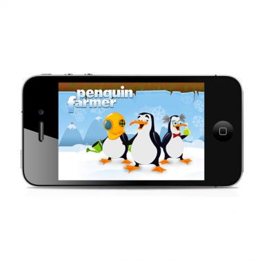 Penguin Farmer - iPhone app игра